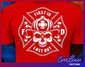 Firefighter clipart jacket. Logo firefighting helmet mask