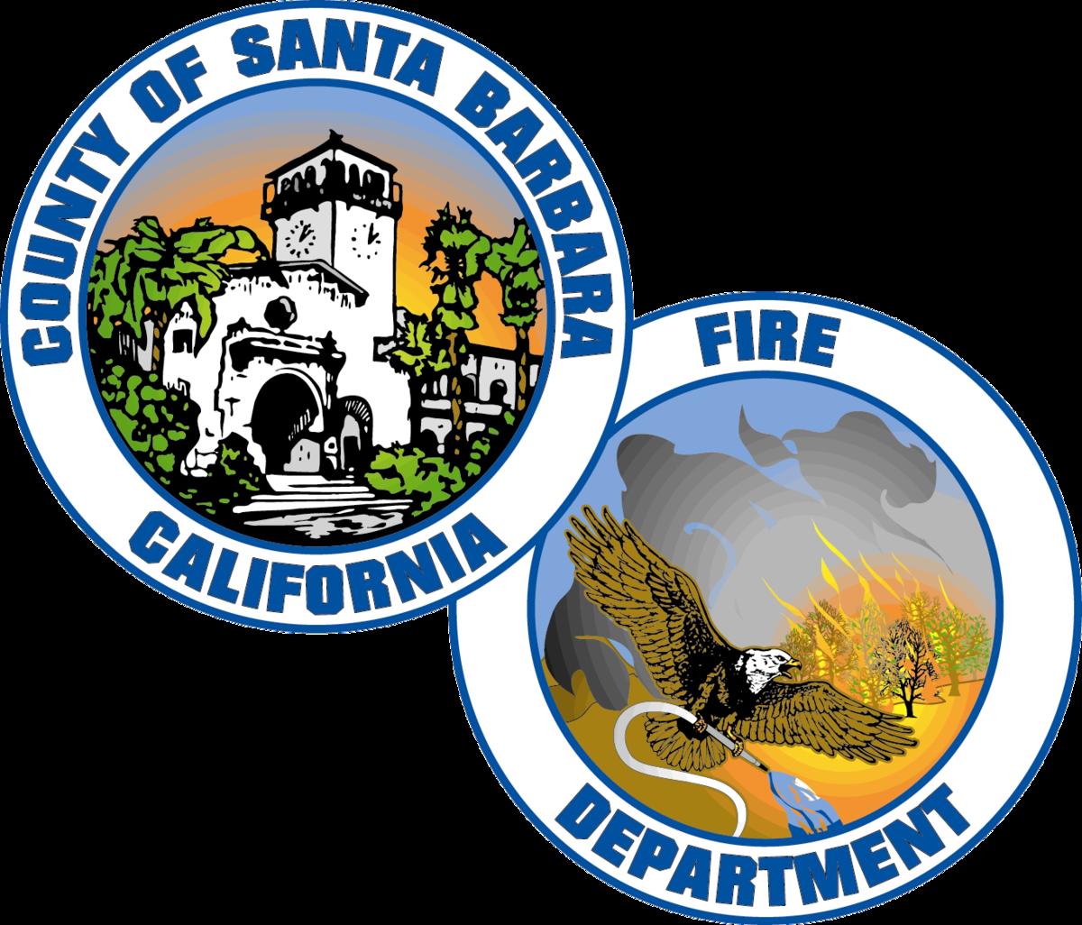 Firefighter clipart nozzle. Santa barbara county fire