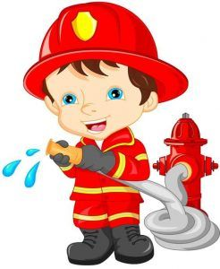 Fireman clipart ocupation. The jobs and occupation