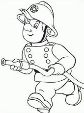 Free firefighter cliparts black. Fireman clipart outline