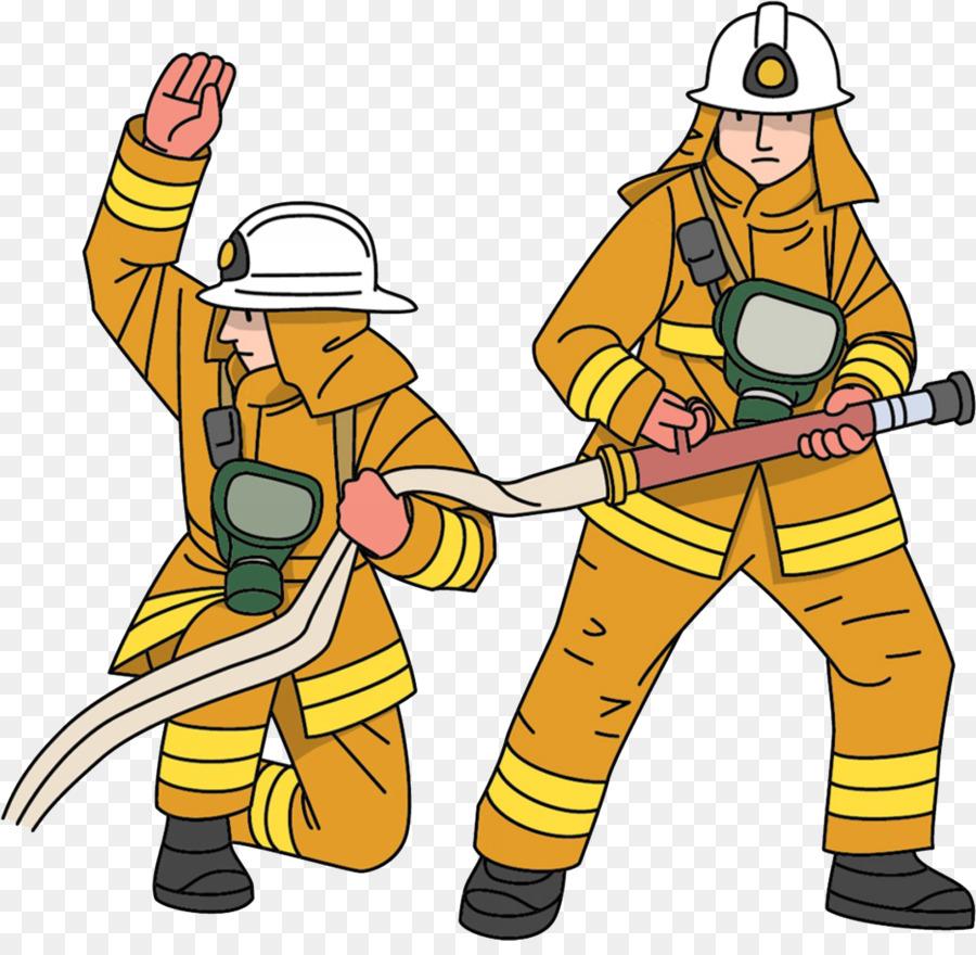 Cartoon . Fireman clipart fire protection
