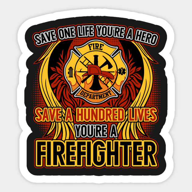 Firefighter clipart save a life. Hero