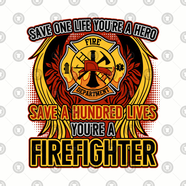 Hero . Firefighter clipart save a life
