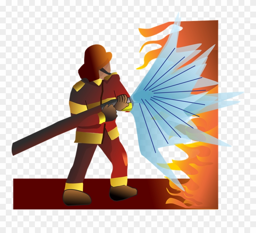 Firefighter clipart search and rescue. Pommes fire png download