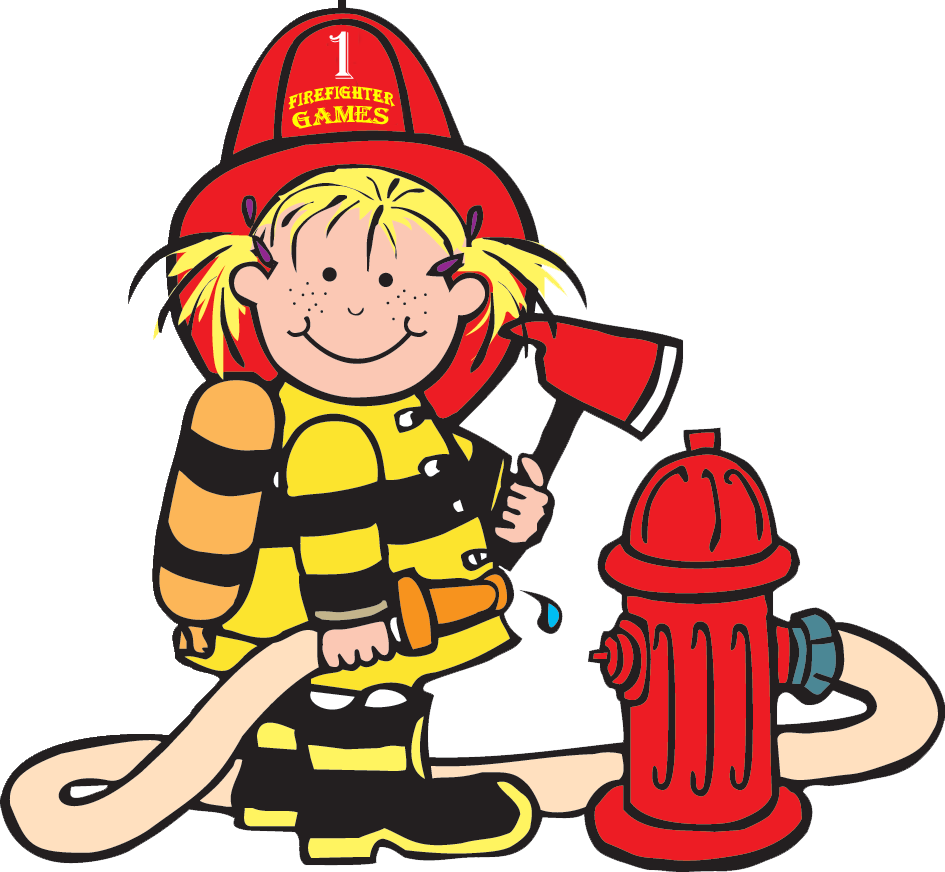 Lil firefighter firemen pinterest. Clipart fire kid