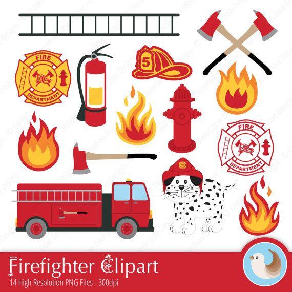 Firefighter station . Fireman clipart home fire