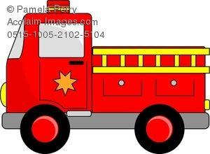 Firetruck clipart toy. Fire truck cartoon clip