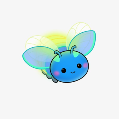 Insect png image and. Firefly clipart