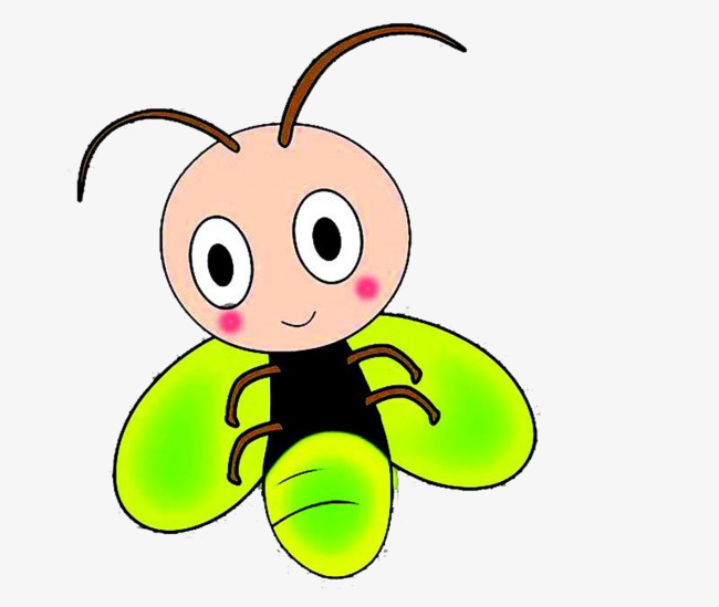 Green antenna png image. Firefly clipart