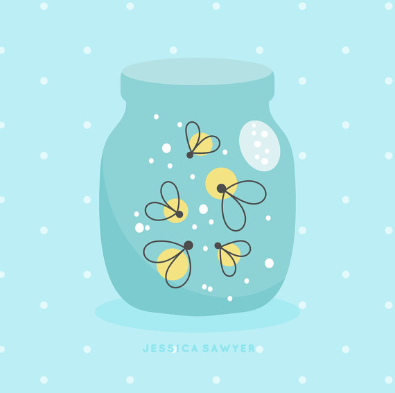 Firefly clipart. Instant download and vectors