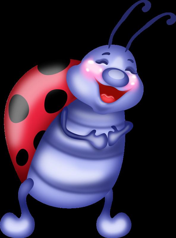 Music of summer clip. Ladybug clipart air animal