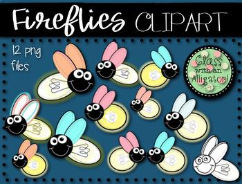 Firefly clipart blue bug. Fireflies clip art