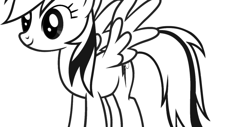 Rainbow dash panda free. Firefly clipart coloring page