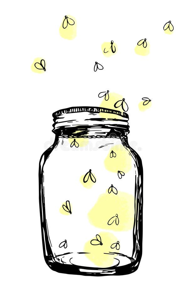 Firefly clipart jar drawing. Image result for fireflies