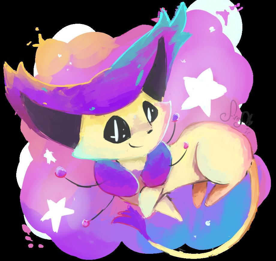Firefly clipart kawaii. Delcatty by purpleninfy on