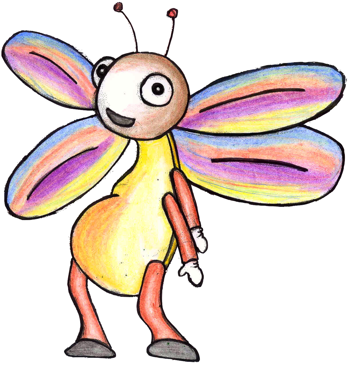 Firefly clipart kid. Freddie from carnival zoo