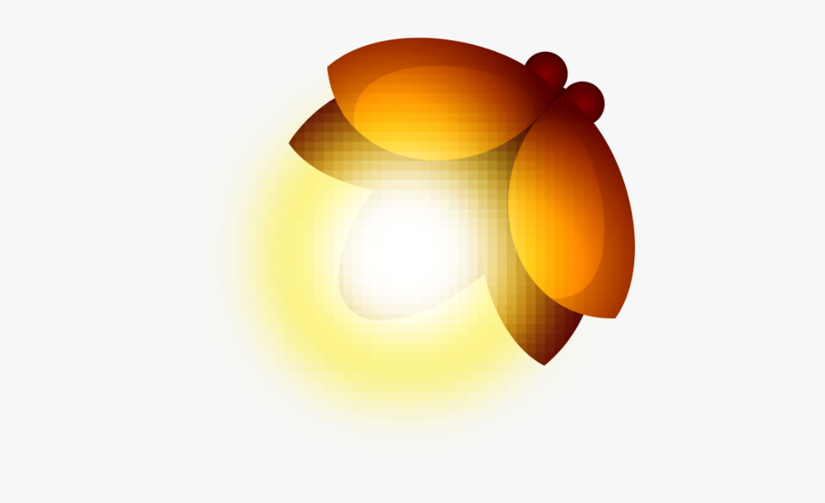 Ftestickers insect luminous . Firefly clipart light bug