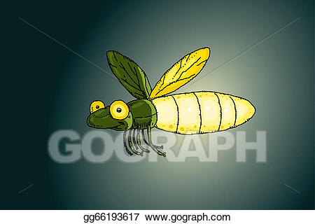 Firefly clipart night clipart. Stock illustration light illustrations