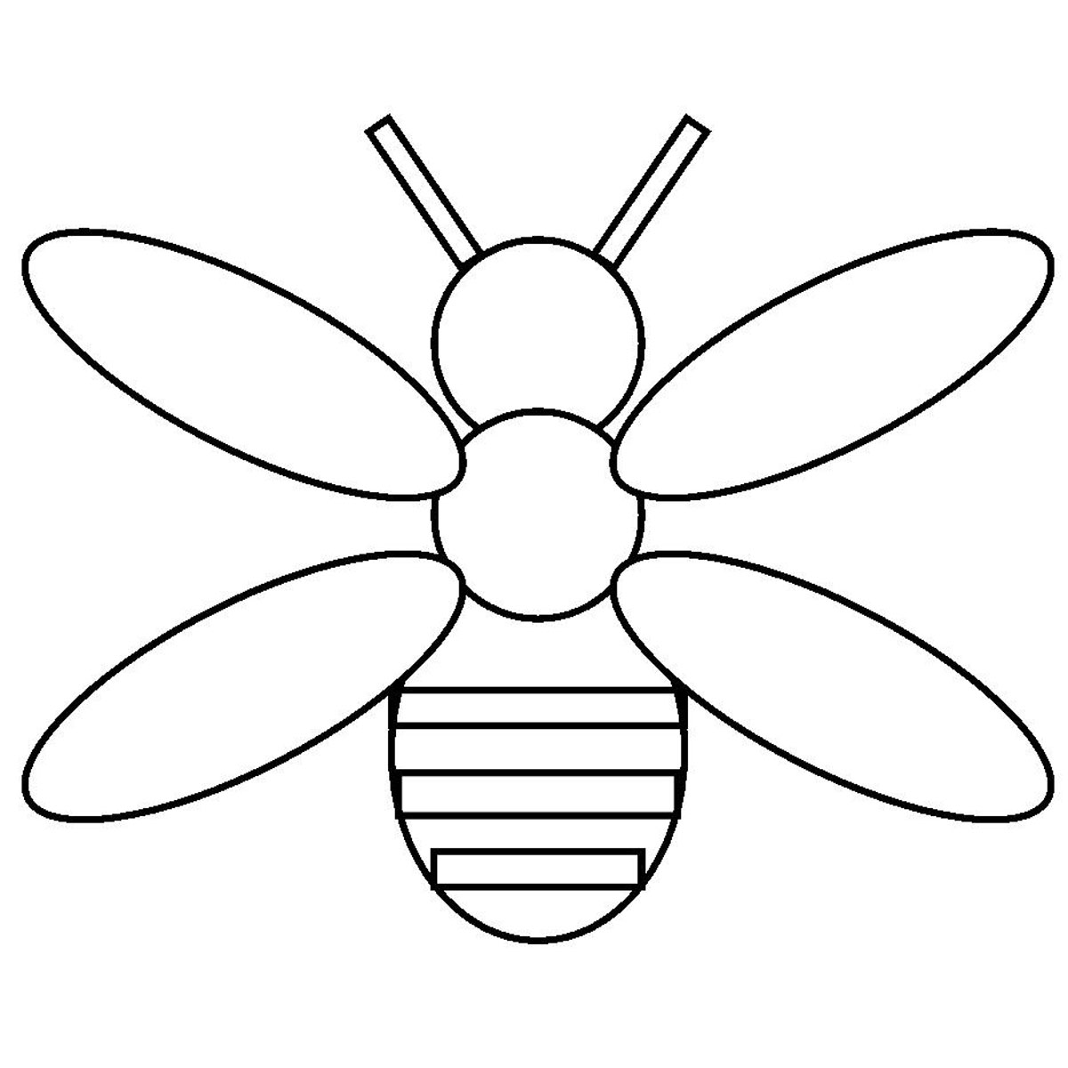 Firefly clipart outline. Free black and white