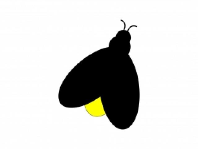 Free download clip art. Firefly clipart simple