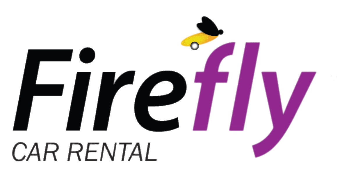 Car rental logo png. Firefly clipart transparent background
