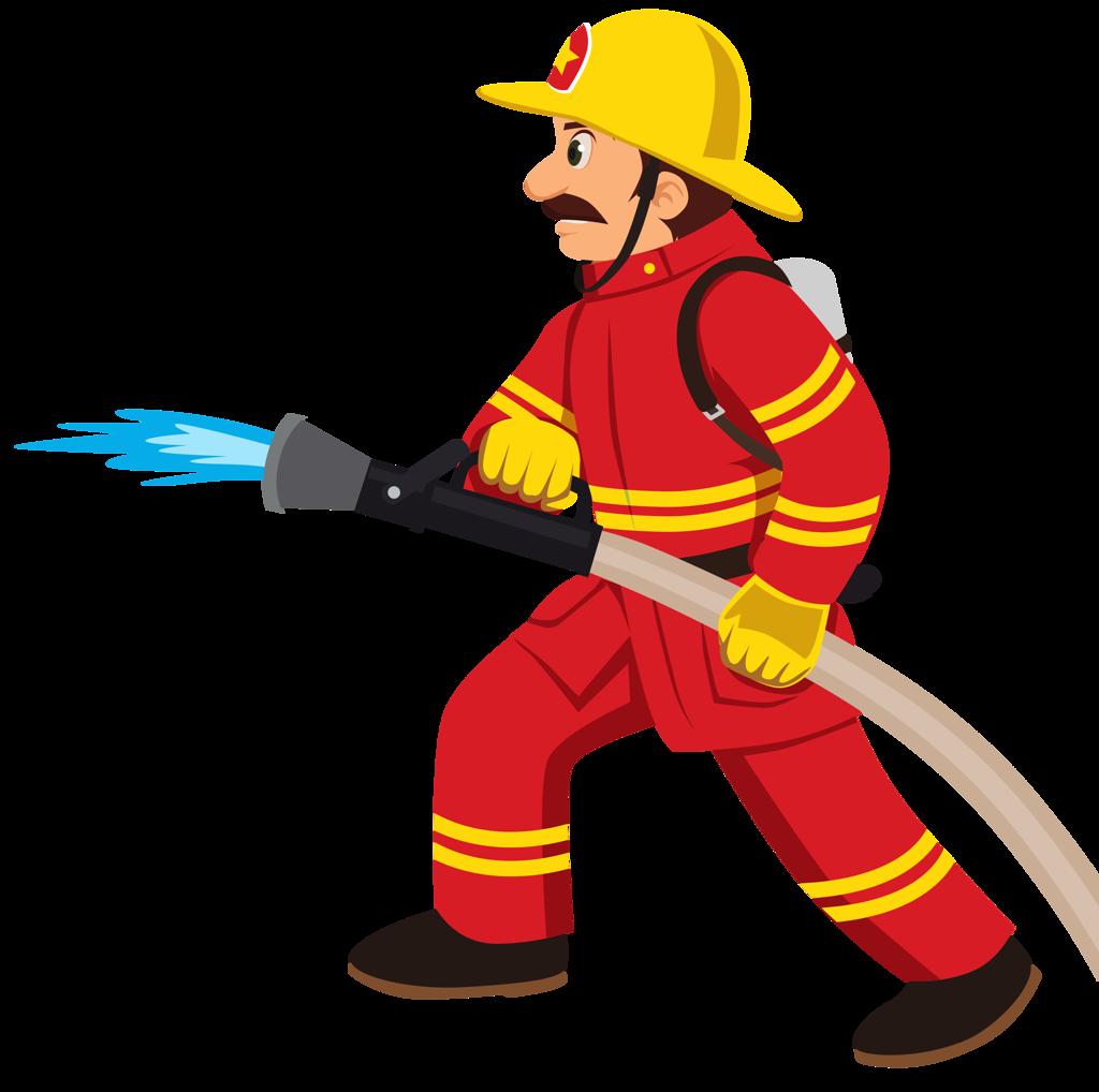 Fireman clipart.  png firemen clip