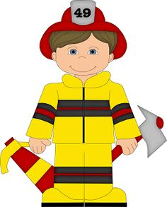 Firefighters . Fireman clipart