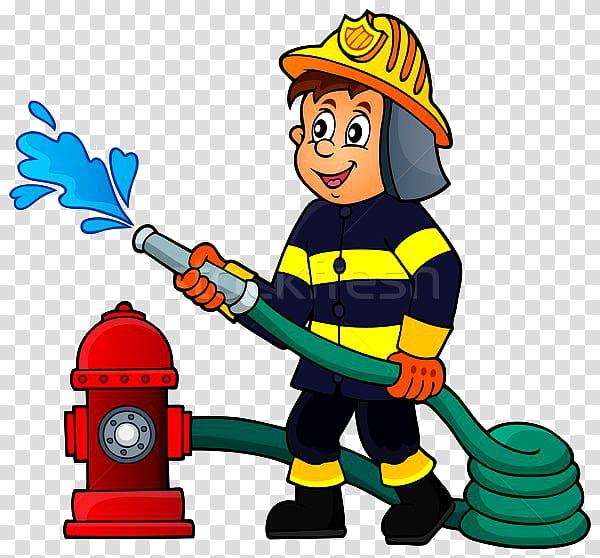 Firefighter clipart firefigther. Fire engine firemen transparent