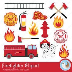 best firefighter images. Fireman clipart accessories