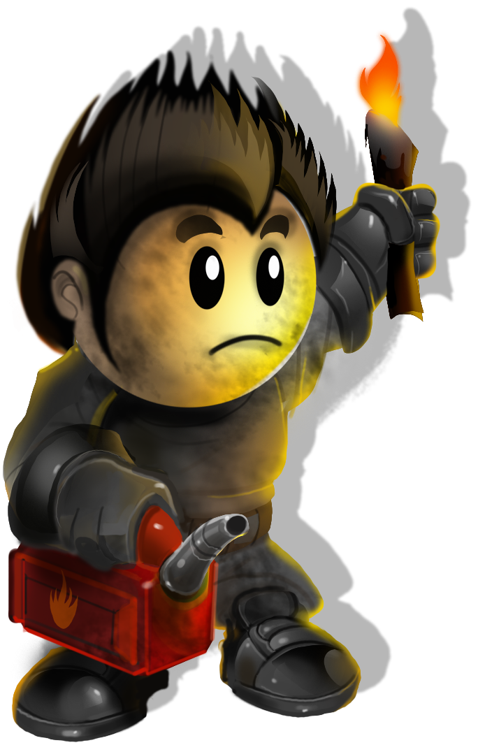 Fireman clipart arsonist. Image promo png town