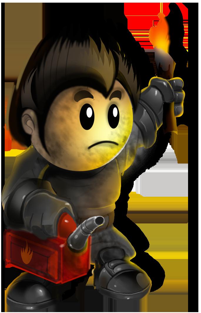 Torch clipart survivor. Image arsonist promo png