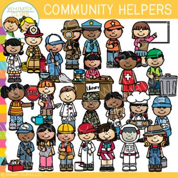 Helpers worksheets teaching resources. Fireman clipart community worker