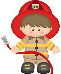 Free download clip art. Fireman clipart cute
