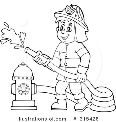 Fireman clipart draw. Drawing at getdrawings com