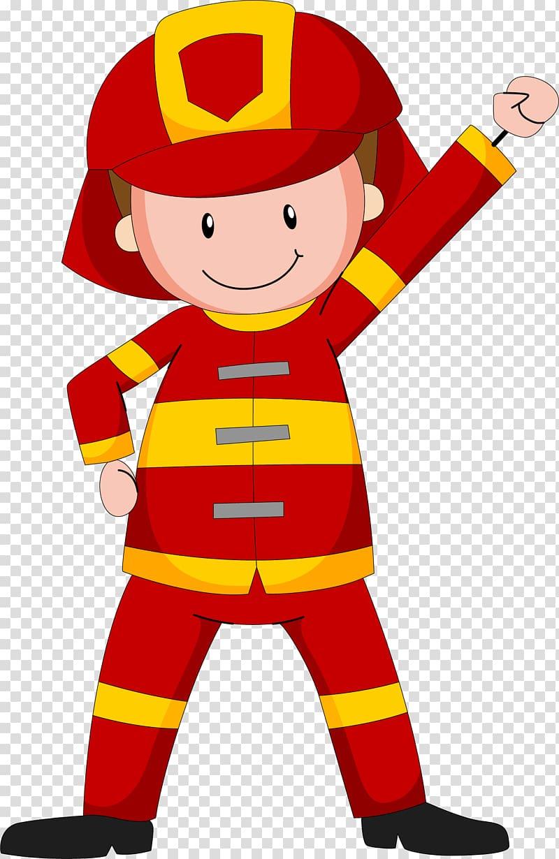 Fireman clipart english. Illustration cartoon transparent background