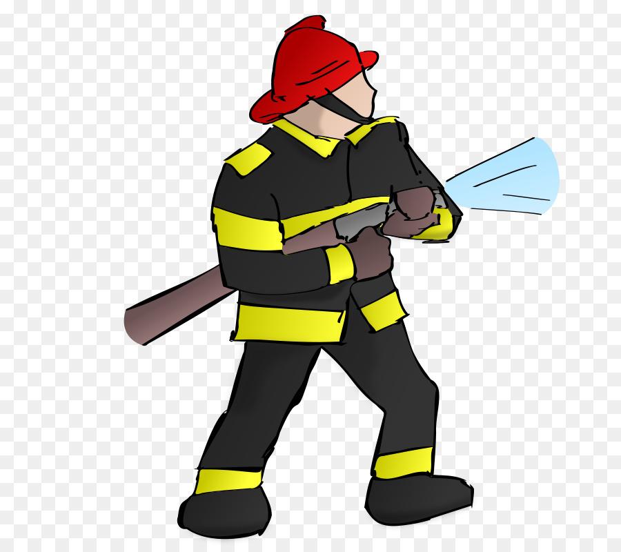 Fireman clipart fire chief. Firefighter cartoon png download