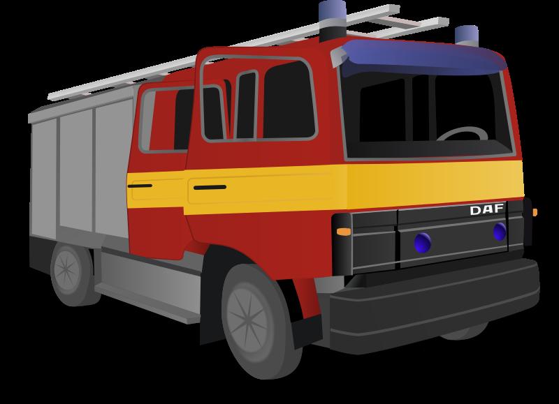 Fireman clipart fire engine. Free truck clip art