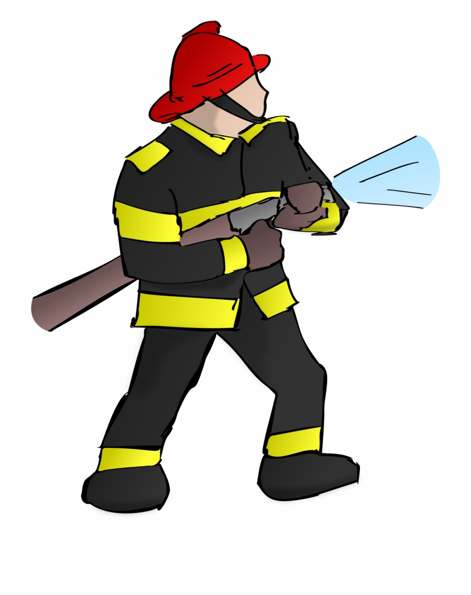 Freeuse big image png. Fireman clipart fire inspector