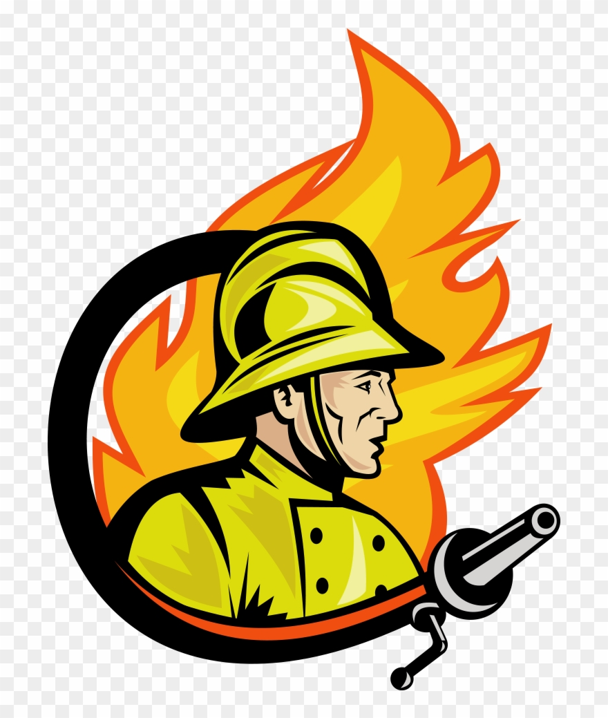 Fireman clipart fire marshal. Png download