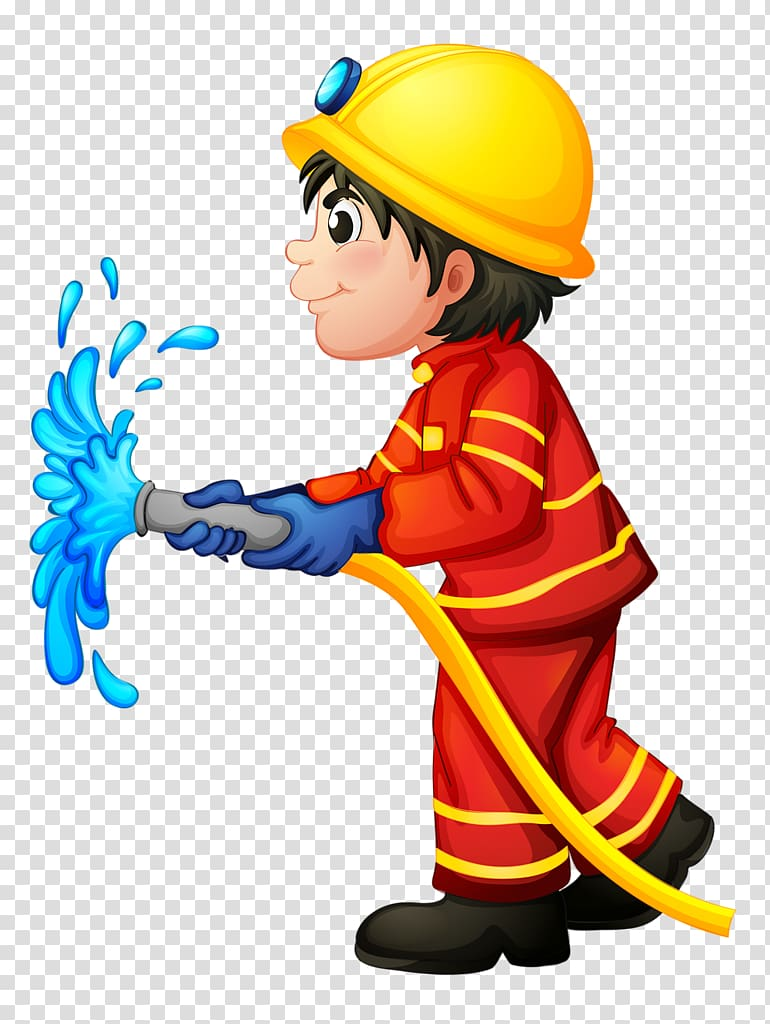 Firefighter station department hydrant. Fireman clipart fire service