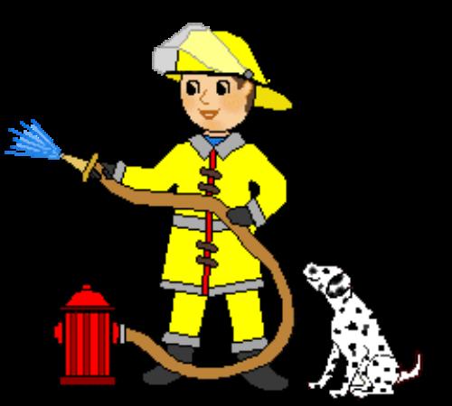 Fireman clipart fire service. Firefighter clip art department