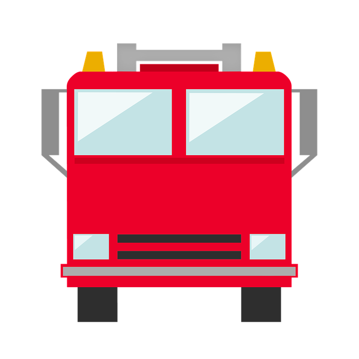 Free photo firefighter truck. Match clipart fire spark