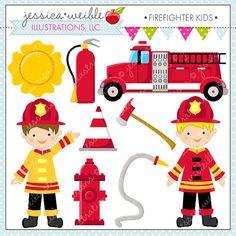 Fireman clipart items.  best firefighter images