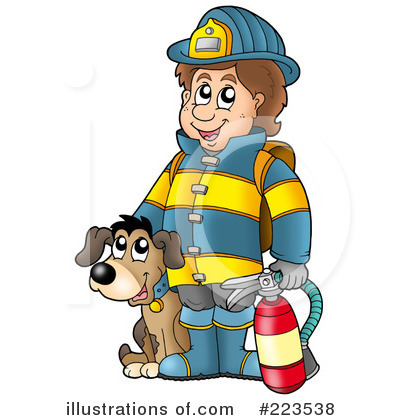 free clipartlook. Fireman clipart kid