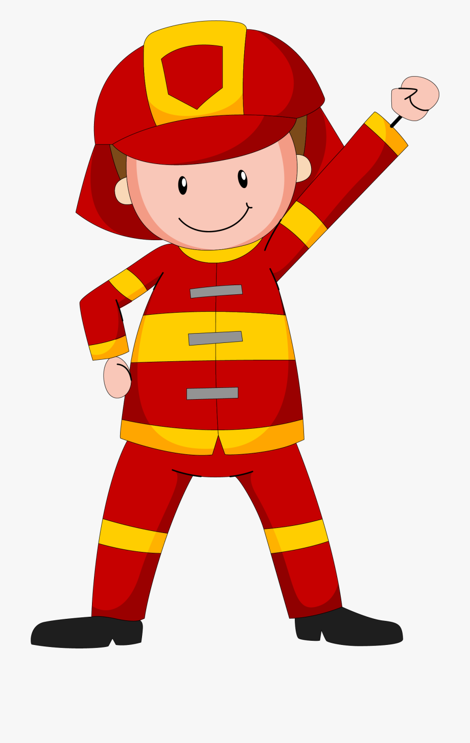 Fireman clipart kid. Transprent png free download