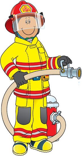 Profiss es e of. Fireman clipart people who help us