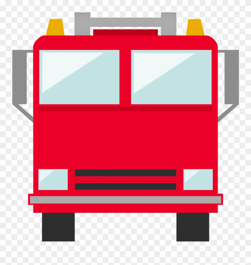 Fire truck icon png. Fireman clipart spray hose