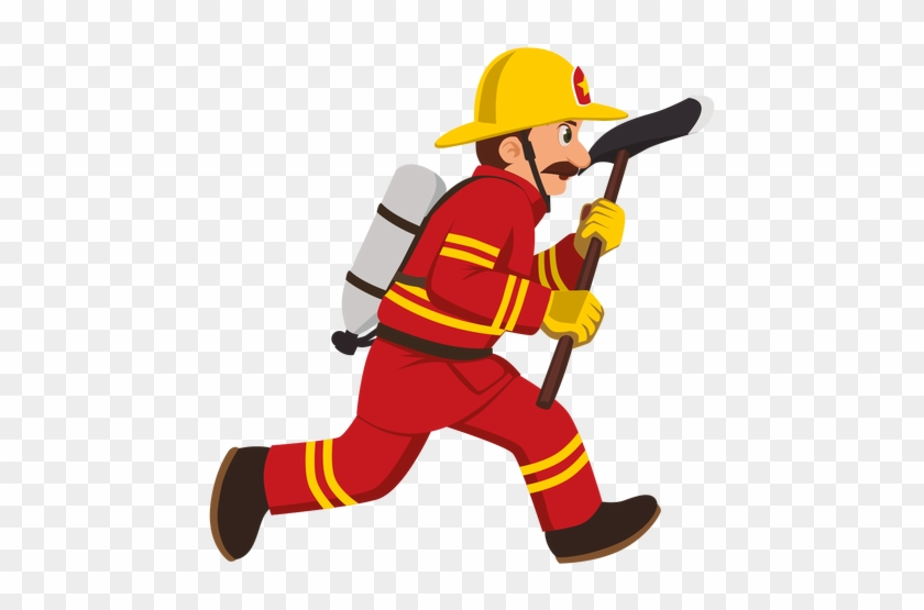 Firefighter cartoon free . Fireman clipart transparent