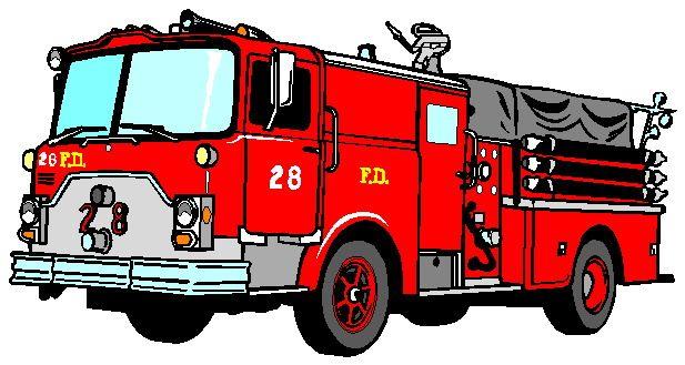 fireman clipart truck