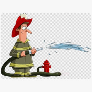 Free cliparts silhouettes cartoons. Fireman clipart water hose
